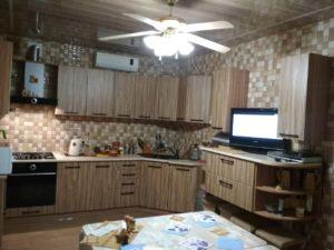 Кухня под серое дерево