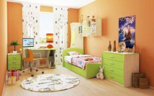 Зеленая детская мебель Луганск