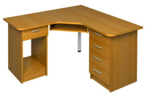 Светлый стол для офиса ЛНР