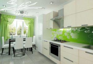 Кухня белая под заказ ЛНР