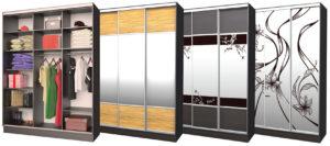 3-х дверные шкафы купе