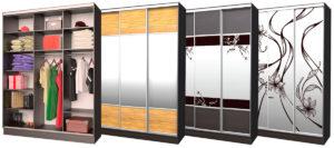 Разные фасады шкафов