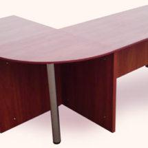 Закругленный стол для офиса
