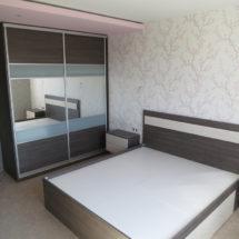 Темная мебель для спальни ЛНР