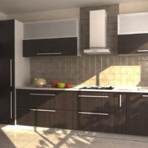 Деревянная кухня набор мебели