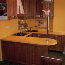Кухня под заказ из дерева ЛНР