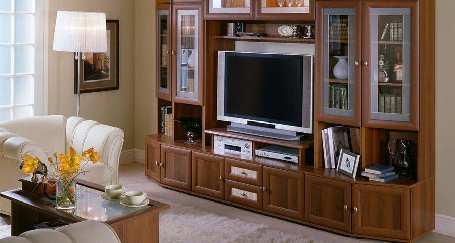 Тумба под телевизор и стенка